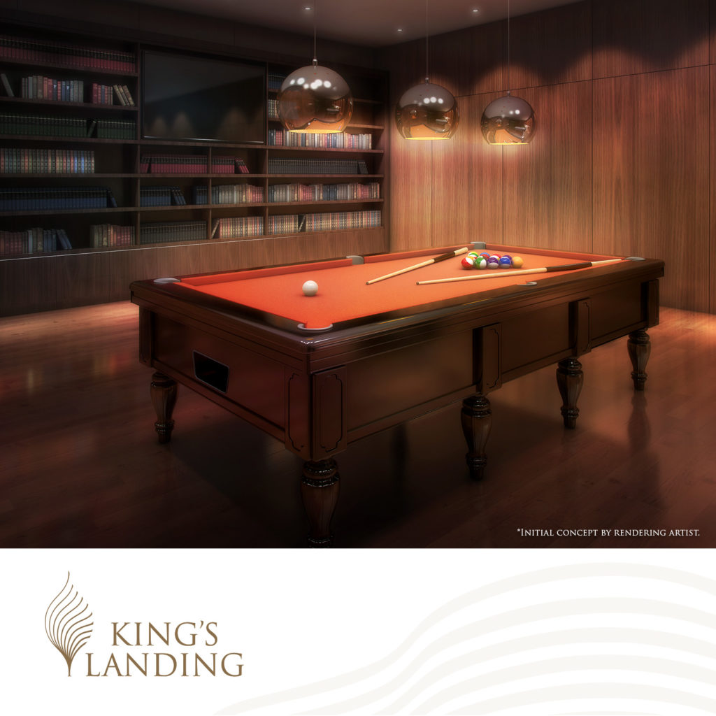 This image has an empty alt attribute; its file name is KingsLanding_Billiards-1024x1024.jpg